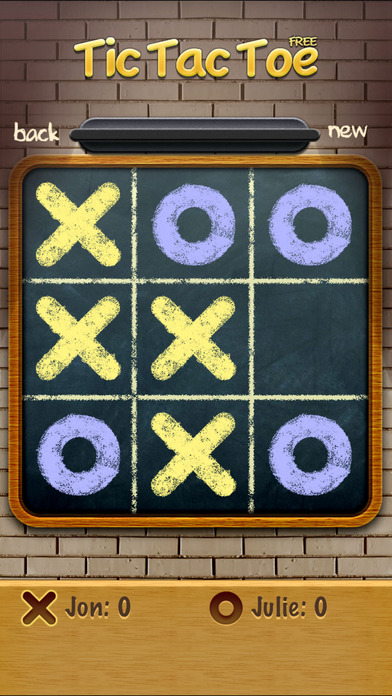 Tic Tac Toe Free iPhone Screenshot 1