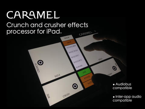 Caramel - Crunch and Crusher Effects Processor