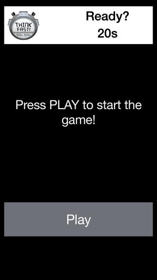 【免費遊戲App】ThinkFast - Quiz-APP點子