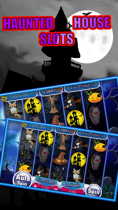 Haunted House Halloween Party Slots