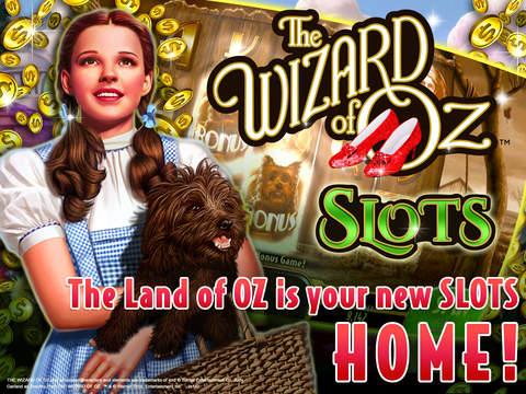 iPad Image of Wizard of Oz Slots Free Casino