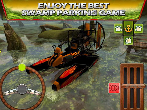 遊戲必備免費app推薦|Swamp Boat 3D River Sports Fast Parking Race Game線上免付費app下載|3C達人阿輝的APP