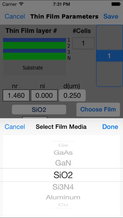 Thin Films iPhone Screenshot 4