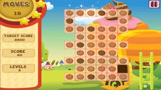 Cookie Craze Saga - Yumyy Dessert Match Game FREE