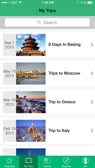 Trip+me: your ultimate trip planner