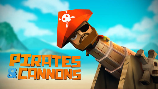 Pirates Cannons 3D
