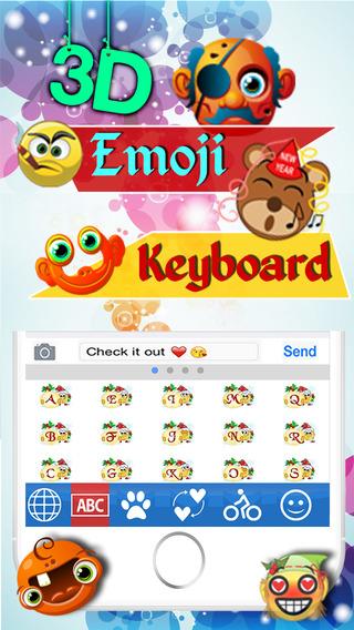 Animated 3D Emoji Keyboard - Animated GIF Emoji Icons Keyboard