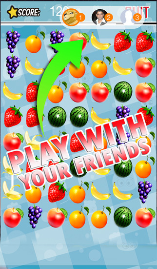 Fruit Kitchen Monsters - Swipe and Score Fresh Fruit Juice Jam