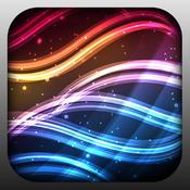 壁纸类 – 漂亮辉光壁纸 Amazing Glow Backgrounds [iOS]