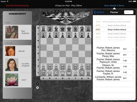 vChess for iPad iPad Screenshot 1