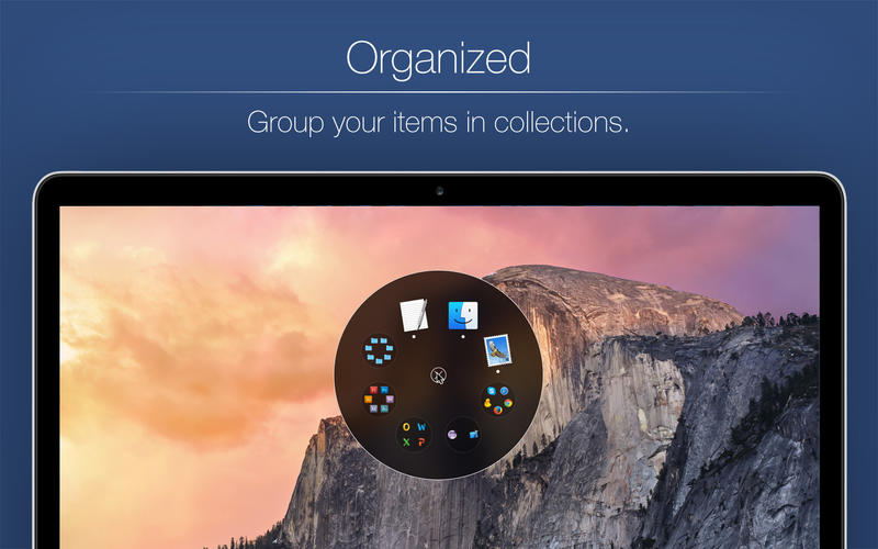 Ring Menu - Shortcut to your favorite Apps, Documents and Folders Screenshots