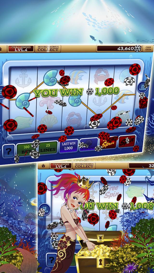 Slots Wizard FREE Wicked Rich -  Casino Wonderland!