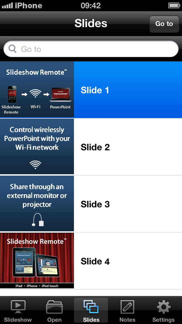 Slideshow Remote 174 For Powerpoint Ios