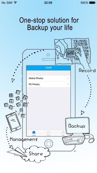 LongCube : The first situation-based recording backup and sharing app