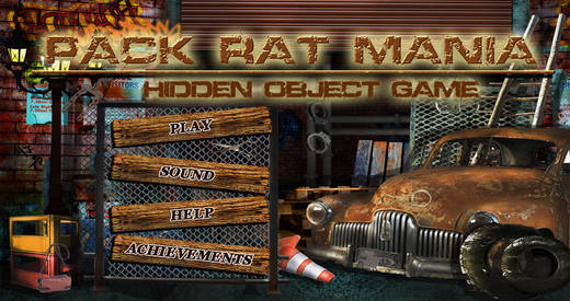 Pack Rat Mania - Free Search find concealed and hidden objects in a messy room