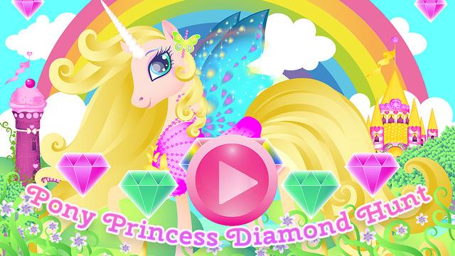 Pony Princess Diamond Hunt