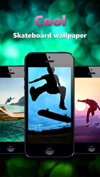 Skateboard Wallpapers Backgrounds Pro - Home Screen Maker with True Themes of Skate Skater