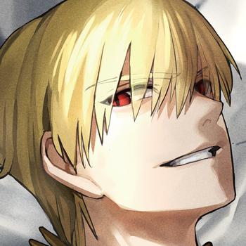 Fate/EXTRA CCC ARタペストリー ギルガメッシュ LOGO-APP點子