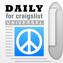 Daily, an app for Craigslist (Universal Version) - Shopping, Cars, Dating, Jobs + Other Mobile Classifieds - iOS Store App Ranking and App Store Stats
