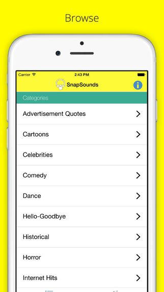 SnapSounds - The Soundboard for Snapchat