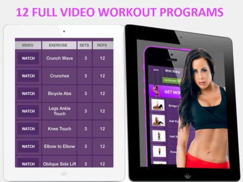 Women Home Fitness – Ежедневные Упражнения Тела Скриншоты8