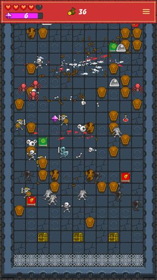 像素休闲 弹球风地牢:One Tap RPG [iOS]