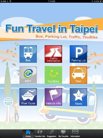 Fun Travel in Taipei For iPad