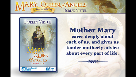 Mary, Queen of Angels Oracle Cards - Doreen Virtue, Ph.D.