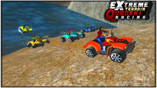 Extreme Terrian Quadski Racing