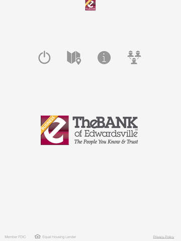 TheBANK of Edwardsville Business Banking for iPad