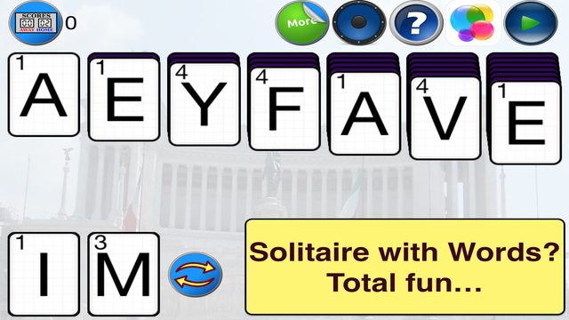 Witty Word Solitaire