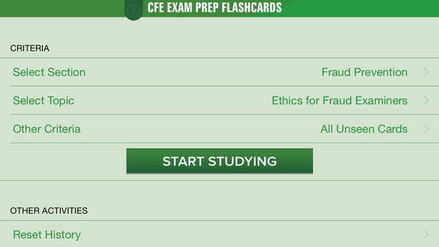 CFE Exam Prep Flashcards