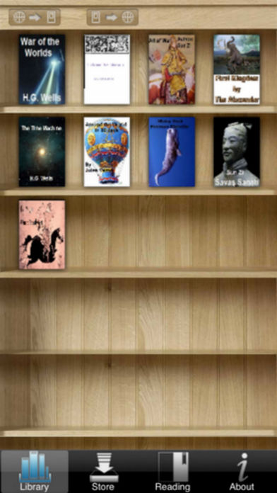 BooksVirtual iPhone Screenshot 1