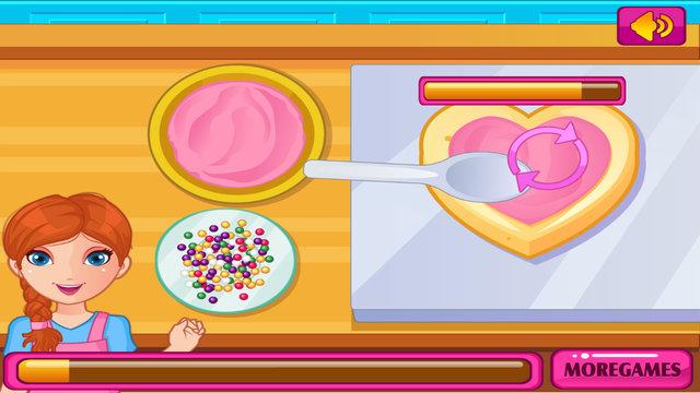 Jessy Cooking Cookies