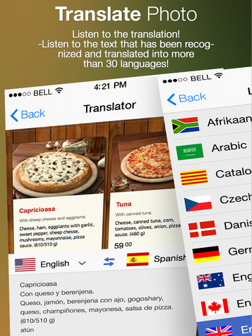 Translate Photo Free - Convert picture to text and make translations screenshot
