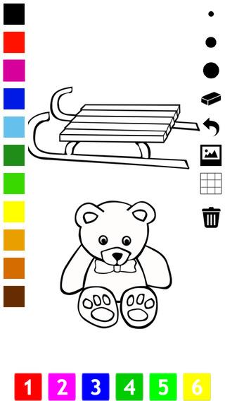 Раскраска цифры на английском языке для детей