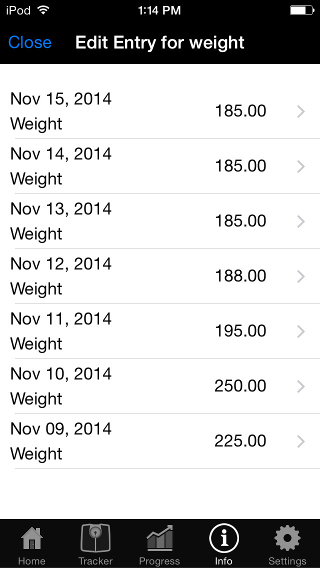weightdrop weight tracker and bmi control tool for