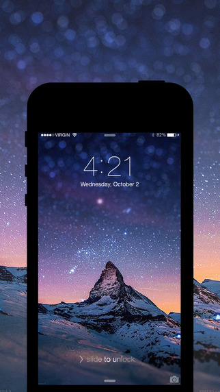 Pro Screen 360: Free Lockscreen Wallpapers Theme Backgrounds for iOS 8 and iPhone 6 - Chinese versio
