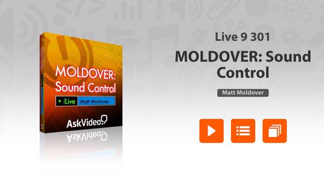 Moldover - Sound Control in Live 9
