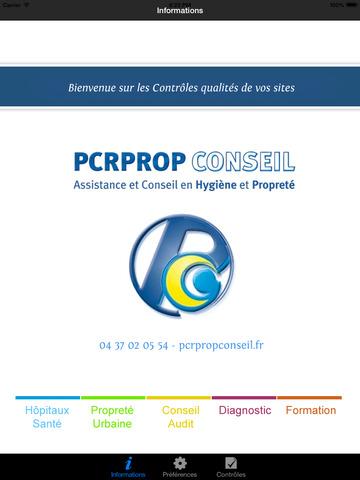 PCRPROP CONTROLE PROPRETE