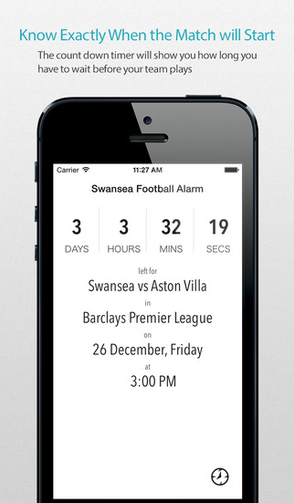 Swansea Football Alarm Pro — News live commentary standings and more for your team