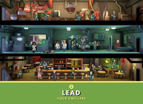 ipad Fallout Shelter Screenshot 1