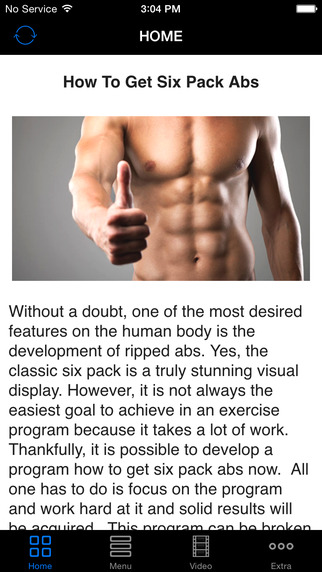 Get Six Pack Abs Now