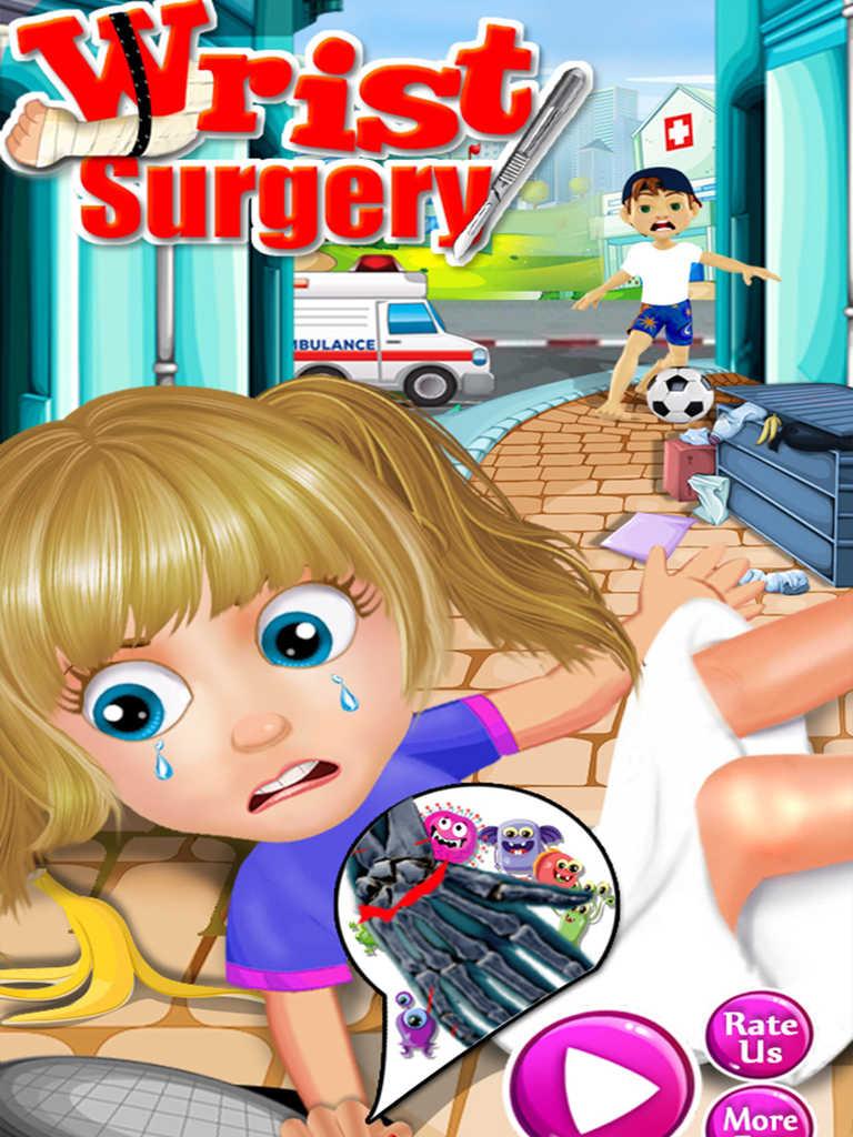 app shopper  wrist doctor surgery  games