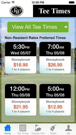 Stoneybrook Orlando West Golf Tee Times