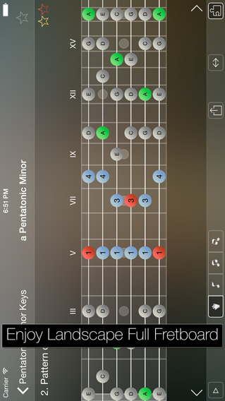 吉他:Star Scales Pro For Guitar【音乐软件】