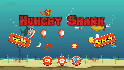 Hungry Stunt Shark - Undersea Games For Kids Boys Baby Girls