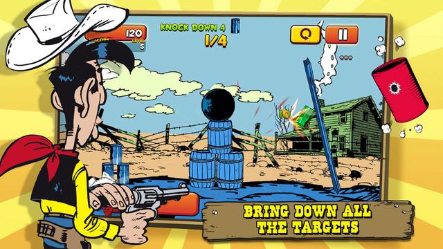 Lucky Luke Shoot Hit