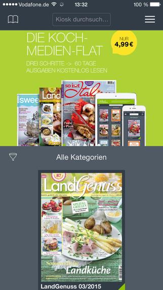 LandGenuss Magazin Natürlich gastlich voller Liebe kochen