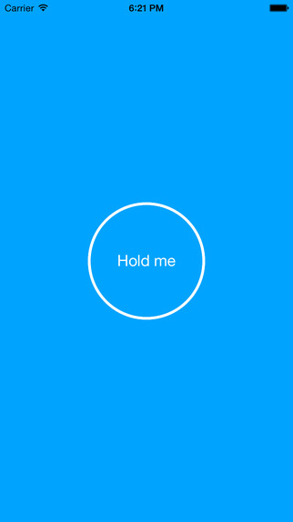Hold me - How long can you go on